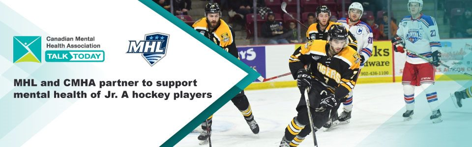 MHL, CMHAs partner to support mental health of Jr. A hockey players across Maritimes